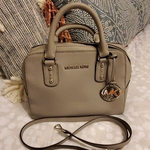 Michael kors gray handbag